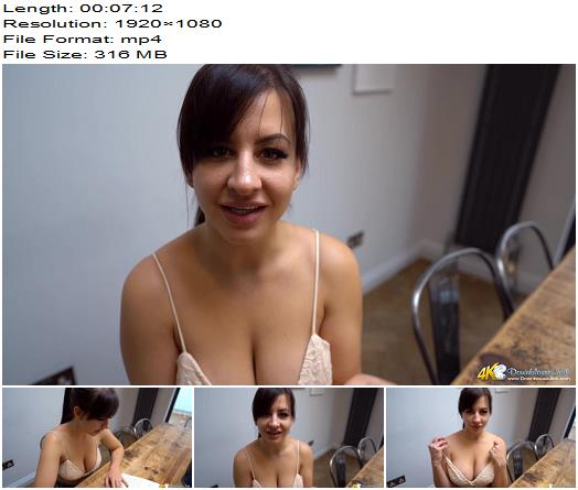 DownBlouse Jerk - Tits For The Tutor - Teasing - Braless, Dirty Talk