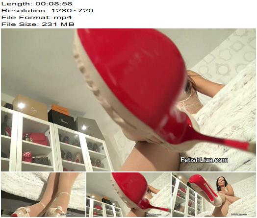 Fetish Liza - Under My sky high heels - Fetish - High Heels Worship, Shoe Fetish