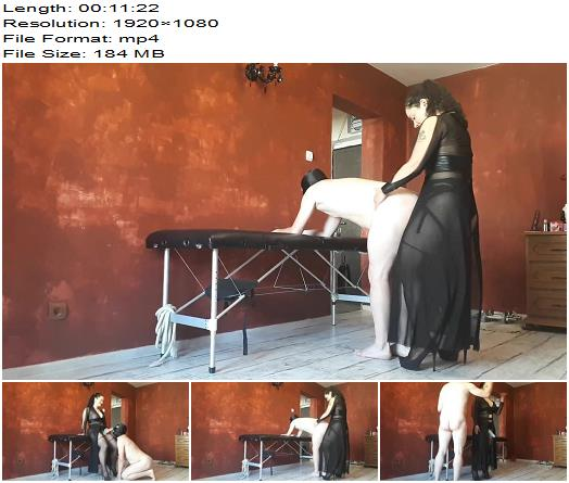 Goddess Parvati - Erotic Strapon Fucking in Black Lingerie - Pegging - Anus Fucking, Strap on
