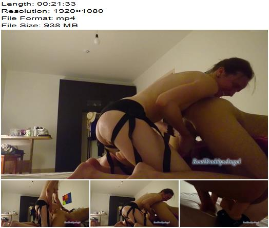 Magretta Dering aka Real Daddys Angel - My First Strapon Experience Femdom Anal Fuck - Pegging - Ass, Anal Fucking