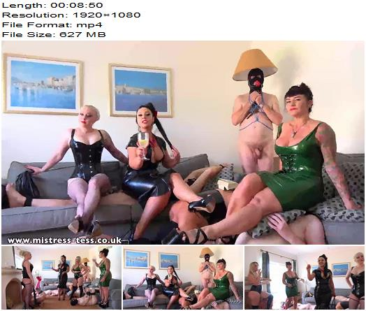 Mistress Tess - iKinka - a New Gynarchy furniture range - Human Furniture - Human Ashtray Fantasy, Smoking Fetish