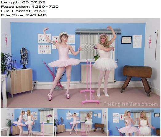 The English Mansion - Princess Aurora - Ballet Stand In Pt1 - Part 2 - Sissy - Sissy Training, Sissy Slut