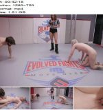 EvolvedFights - Arielle Aquinas - Muscle Man destroys tattooed Blonde then fucks her - Mixed Wrestling - Blond Hair, Femdom