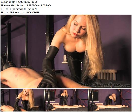 Femme Fatale Films - Mistress Eleise de Lacy - A Caning Matter - Corporal Punishment - Femme-Fatale, Female Domination