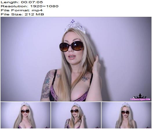 Goddess Isabel - My Special Gift, My Middle FInger - Humiliation - Jerkoff Commands, Sunglasses Fetish