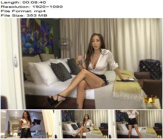Lady Nina Leigh - Real estate rip off - Money Fetish, Joi