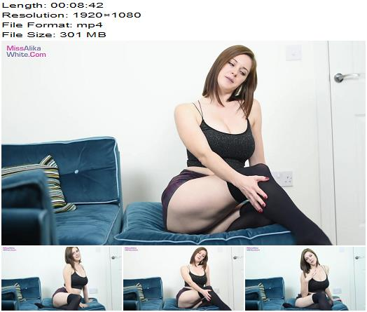 Miss Alika White - Intense Edging with Miss Alika - Instructions - Jerk Off Instruction, Masturbation Games