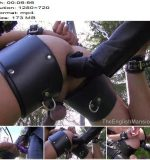 The English Mansion - Mistress Sidonia - Suspension Swing Strapon - Part 2 - Pegging - Strap-On, Anal Fucking