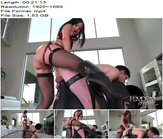 Vicious Femdom Empire - Stretched Boy-Pussy - Kendra Spade - Pegging - Anus Fucking, Ass Fucking