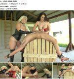 ClubDom - Macy Cartel, Alexis Grace - Milking The Slaves Slut Stick - Handjob - Mistress Alexis Grace, Sperm