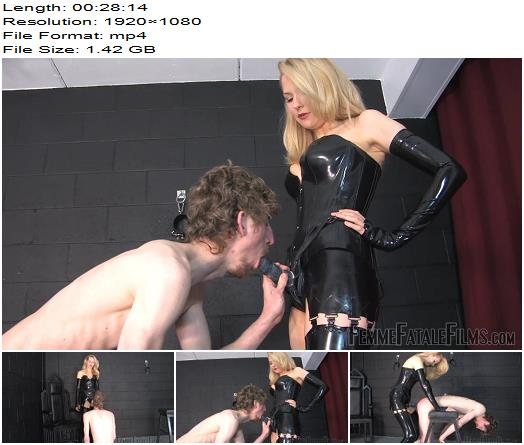 Femme Fatale Films – Anal Fuck Toy – Super HD – Complete Film -  Mistress Eleise de Lacy - Dungeon, Strap-on Sucking