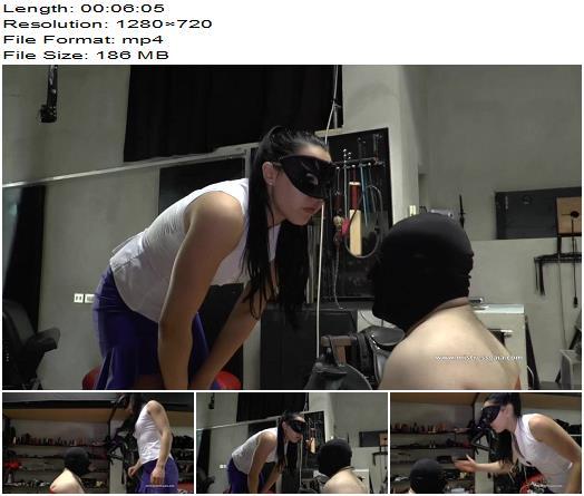Mistress Gaia - Kneel Slapping (1080 HD) - Face Slapping - Faceslap, Faceslapping