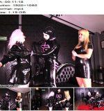 Mistress Tess - Rubber Doll Play Part 1 - Miss Kim - Female Domination - Latex Shine, Doll Fetish Fantasy
