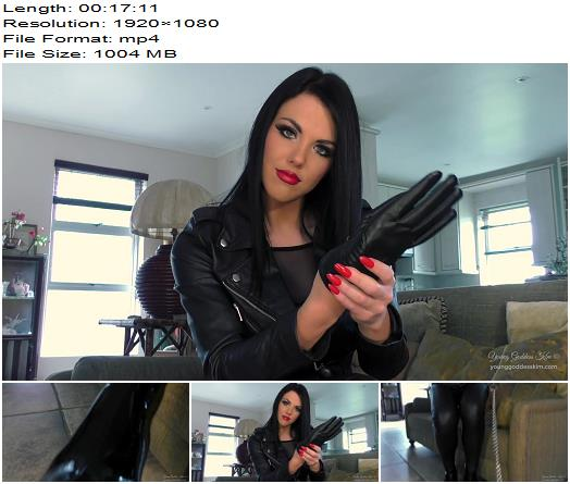 Young Goddess Kim - The Boot Command - Boot Worship - Young Mistress, Boot Licking