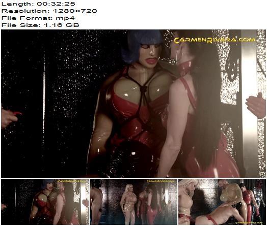 Carmen Rivera - Bimbo Doll Ivana, Carmen Rivera, Colby Jansen - LOVE IS IN THE ASS - Part 1 - Pegging - Strap on, Dildo Fucking