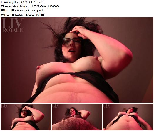 Liv Royale - Quickie Face Fuck - Facesitting - Hairy Armpits, Female Domination