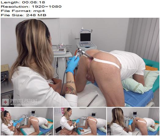 Private-Patient - Anal Exam - Part 3 - Medical Femdom - Medical Fetish, Rectoscopy