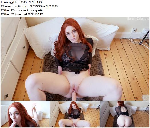 Sarah Calanthe -  Fuck me! POV with fuck machine - Virtual Sex - Breast Worship, Big Breast