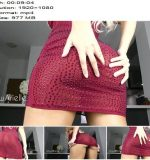 Wow Arielle - Peak Up My Dress Ass Tease - Valentines Day - Shiny, ASMR