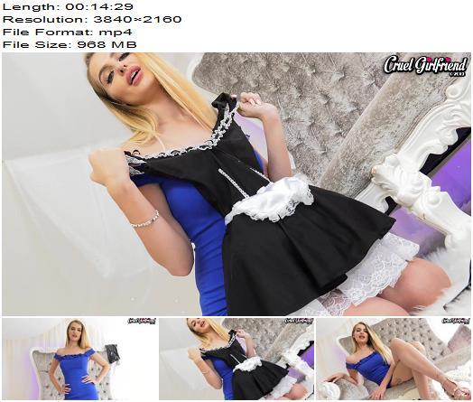 Cruel Girlfriend - 1 Hour Sissy Humiliation Dare - Ultra HD, 4K Video