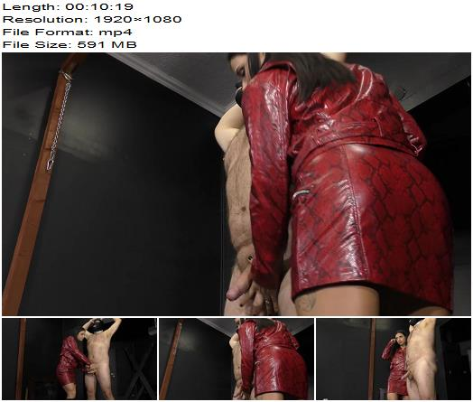 Cruel Mistresses - Long cock torture - Mistress Mira - CBT - Balls Busting, Ballbusting