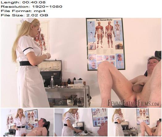 Femme Fatale Films - Mistress Eleise de Lacy - Anal Stretching Clinic - Complete Film - Medical Femdom - CBT, Femme-FF