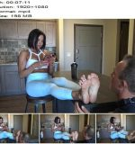Goddess Zephy - Foot Licking After Workout! (1080 HD) - Foot Worship - Footworship, Foot Fetish