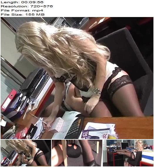 Kelly Kalashnik - The Secretary and Her Human Furniture - Female Domination - Fem Dom, Facesitting