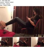 Kitty - Foot Smother And Human Footstool - Foot Domination - Human Furniture, Femdom