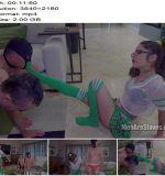 Men Are Slaves – Peeking At The Cheerleader -  Vanessa Vega  - Socks, K2s.cc