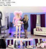 The English Mansion - Miss Eve Harper and Natalie Goth TV - Big Sissy's Humiliation - Part 1 - Spank, Sissy Slut