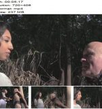 EMPRESS JENNIFER – Face Slapping In The Garden  - Spitting, Leather