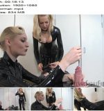 Femme Fatale Films - Lady Lola, Mistress Eleise de Lacy - Rubber Toy - Complete Movie - Urethral Sounds - Boots, Breast Smothering