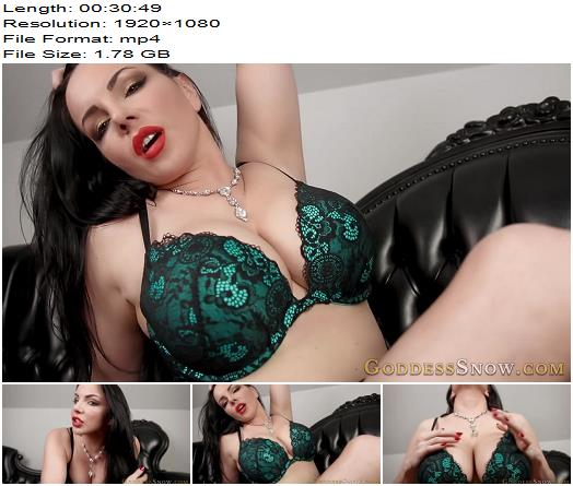 Goddess Alexandra Snow - Edge Forever - Instructions - Jerkoff Commands, Huge Boobs