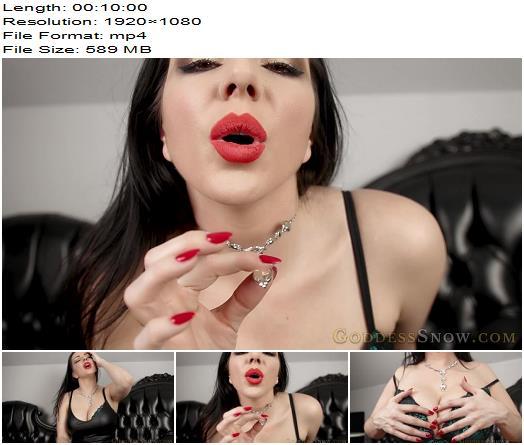 Goddess Alexandra Snow - The Sex Experiment - Instructions - Jerkoff Command, Boobs Worship