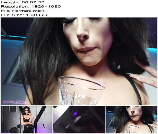Goddess Tangent - Drink Up Spit Slut - Humiliation - Verbal Humiliation, Degradation