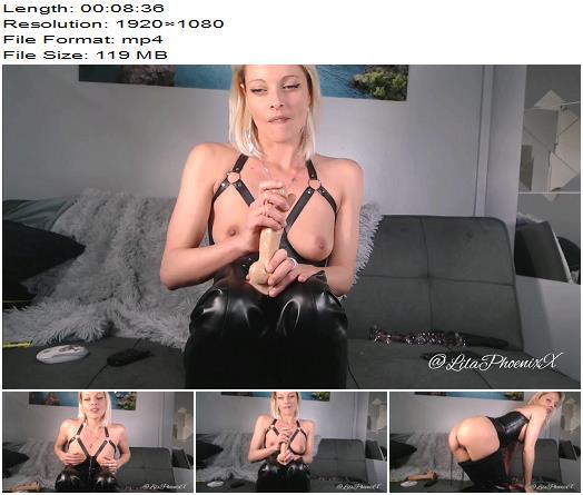 Lila Phoenix - Instructions Handjob Blonde am do Orgasm - JOI, Jerkoff Commands