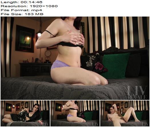Liv Royale - Panties & Bush JOI Game - Instructions - Masturbation Games, Lace Panties
