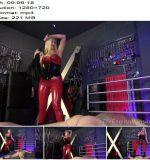The English Mansion - Mistress Nikki Whiplash - Broken By Her Strapon - Part 1 - Whipping - Femdom, High Heels