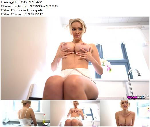 WankItNow - Amber Jayne - A Cup Of Sugar - Instructions - Enhanced Large Tits, Jerk Off Encouragement