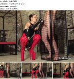 Dirty Dommes – Caged male milking meat -  Fetish Liza  - Forced Male Orgasm, Femdom