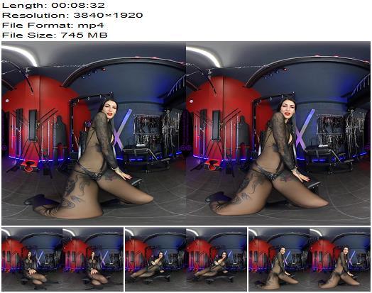 The English Mansion - Mistress Damazonia - Humiliating My Chastity Cuck - VR - Cock Locked, Key-Holding