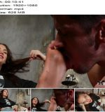 Torture Time - Rocky Emerson - Clean Off Rocky's Size 11's Or Else She'll Steal Your Girlfriend - Footlicking, Foot Fetish