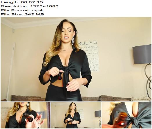 GlamWorship - Mind Fuck Humiliation (Danni King - Mind Fuck) - Masturbation Instruction, Tit Worship