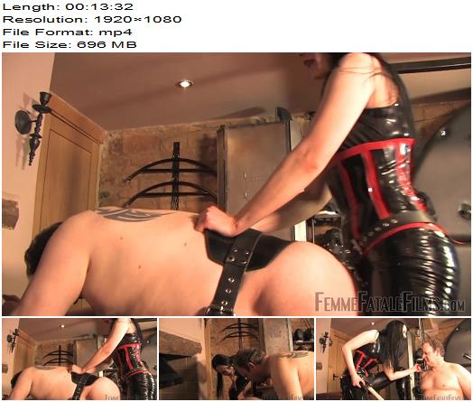 Femme Fatale Films - Rebekka Raynor - Stepping Up - Complete Film - Pegging - Knee Boots, Femdom