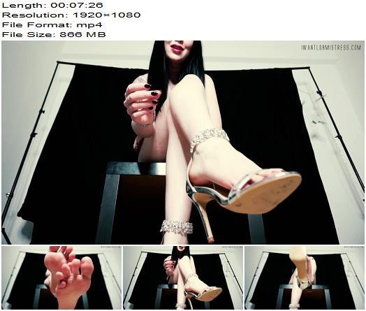 Goddess Isabel - You Can't Worship My Feet - Findom - Goddess Worship, Brunette Goddess