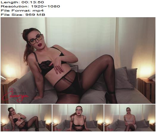 Princess Camryn - Pantyhose Addiction Therapy-Fantasy - Part 3 - Mesmerize - Male Cum Swallowing, Femdom