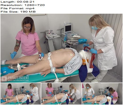 Private-Patient - Distraction - Part 4 - Medical Femdom - Medical Restraints, Breath Training