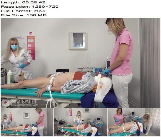 Private-Patient - Distraction - Part 5 - Medical Femdom - Female Domination, Dental Clinic