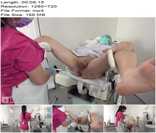 Private-Patient - Safety Gyn Chair - Part 1 - Medical Femdom - Medical Fetish, Rectum